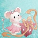 Mon amie Honorine la souris - Illustration of the cover