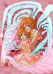 Artbook Tribute to CLAMP - My illustration - Sakura x 2