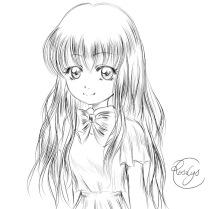 Miss Nihon no pan Lineart