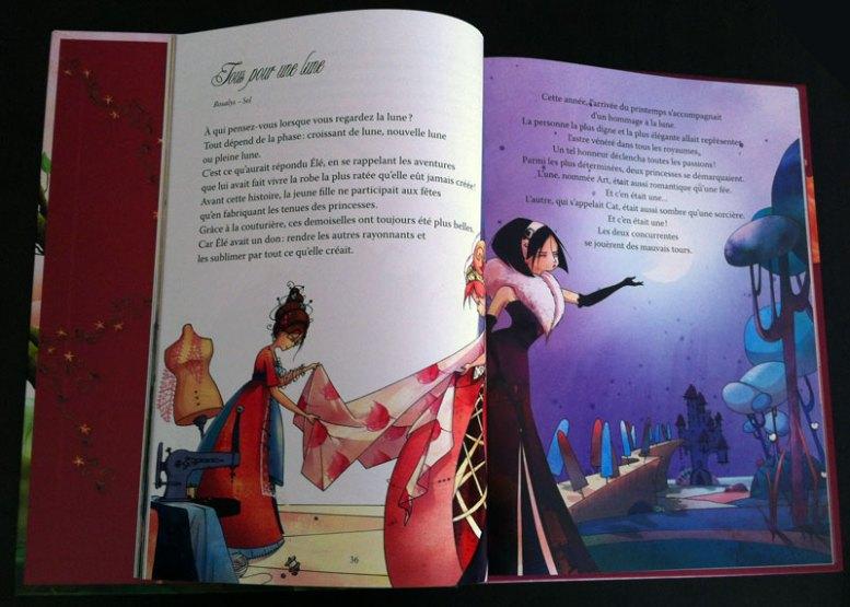 My story : Tous pour une lune - page 1 & 2