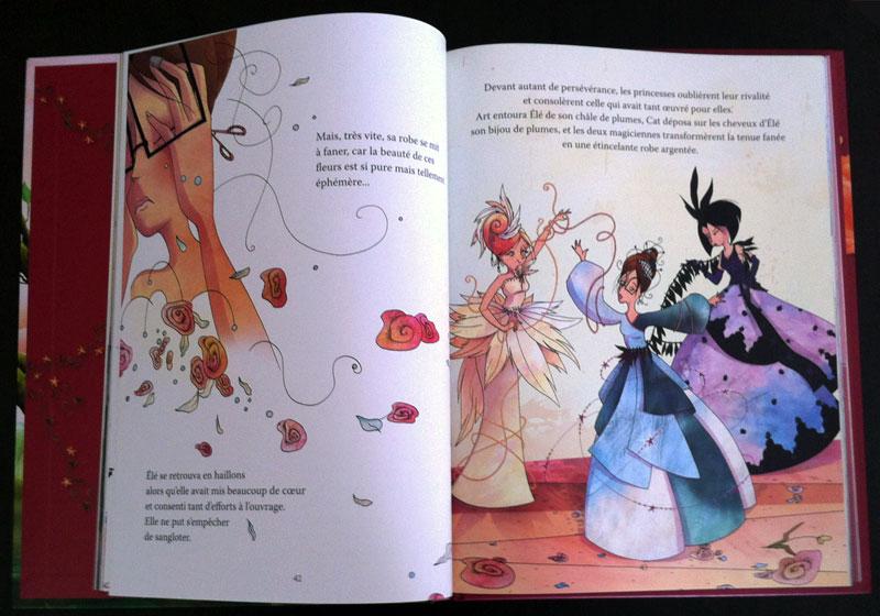 16 histoires de belles princesses tous pour une lune page 7 8 rosalys artist. Black Bedroom Furniture Sets. Home Design Ideas