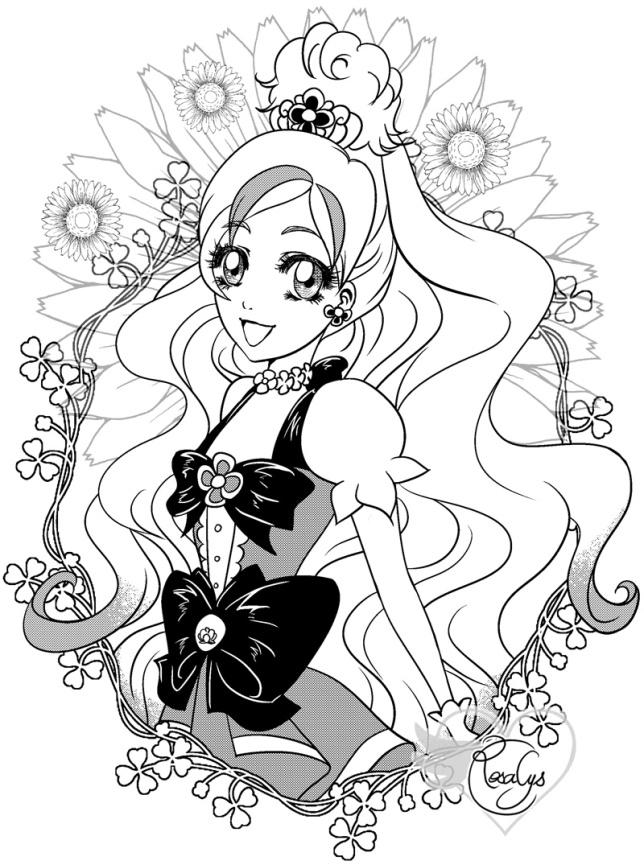 Cure Flora 【Go! Princess PreCure】~ キュアフローラ 【Go!プリンセスプリキュア】