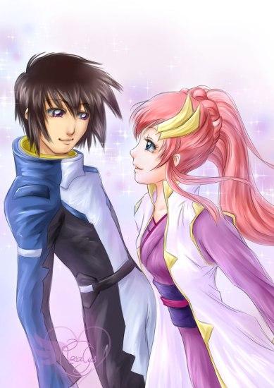 Kira & Lacus【Gundam SEED】• キラとラクス【機動戦士ガンダムSEED】