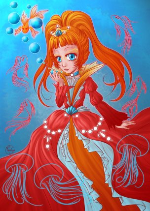 Little princess Goldfish