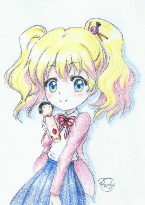 Alice (Kin-iro Mosaic) - アリス(きんいろモザイク)
