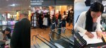 Signing session at the bookstore FNAC (Nantes)