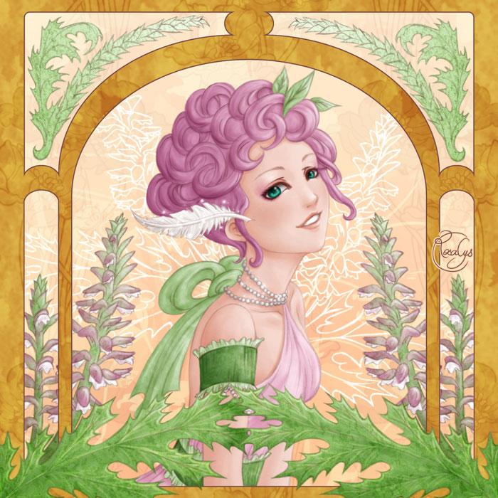 Language of flowers - Acanthe, amour de l'art