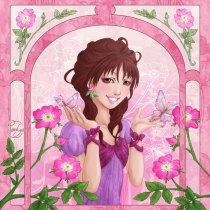 Language of flowers - Églantine, poésie du printemps