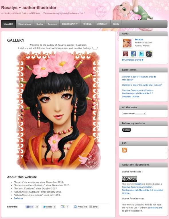 Rosalys ~ author-illustrator - 2011
