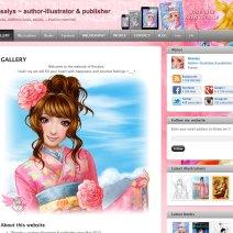Rosalys ~ author-illustrator & publisher - 2012