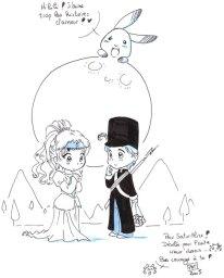 My princess Marina and Daisuke