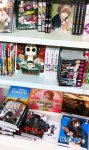The book in the Manga department of the mall Leclerc Atlantis (Saint-Herblain)