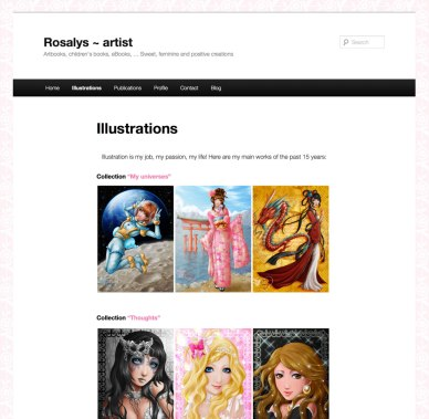 Rosalys ~ artist - pureness - 2013