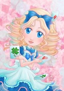 Alice in wonderland - portrait