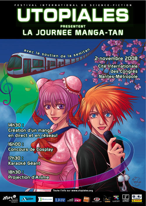 2008 : Festival sci-fi Utopiales – Manga-tan 2 (La Cité Nantes Events center)