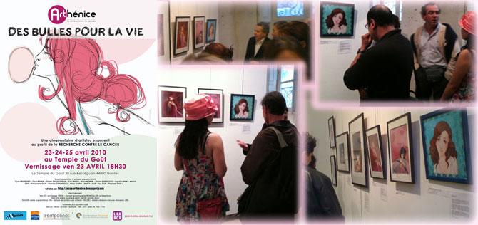 2010 - Charity exhibition (Le Temple du Goût, Nantes, FRANCE)