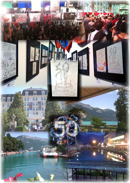 2010 - Collective exhibition (theater of Bonlieu, Annecy, FRANCE)