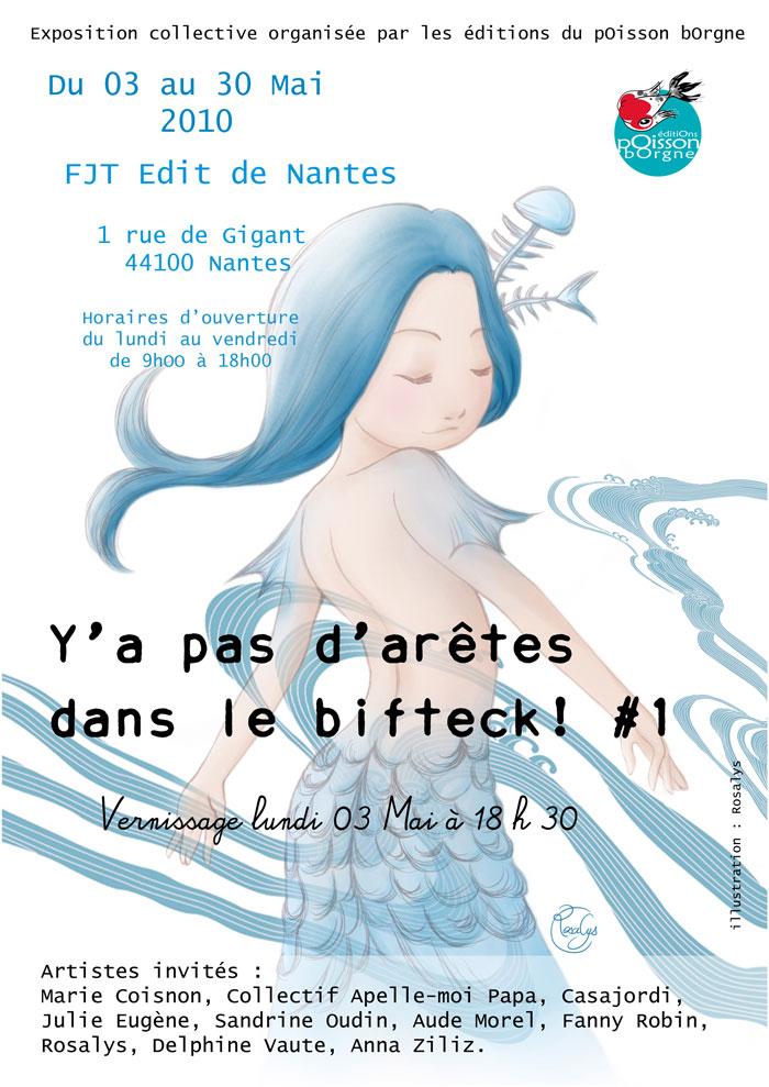 2010 - Collective exhibition (Edit de Nantes, Nantes, FRANCE)