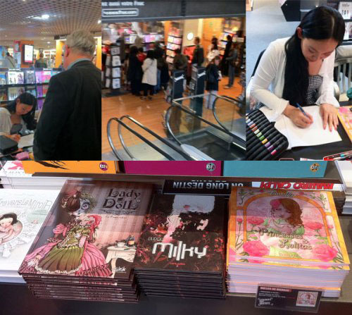2011 : Bookstore FNAC (Nantes, FRANCE)
