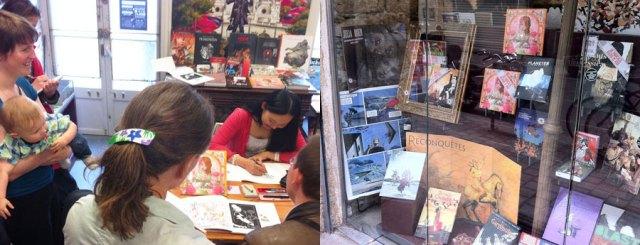 2011 : Bookstore La Mystérieuse Librairie Nantaise (Nantes, FRANCE)