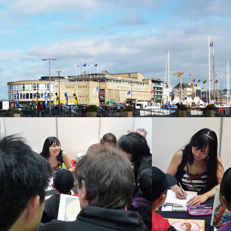2011 : Festival of comic books Quai des bulles (Saint-Malo, FRANCE)