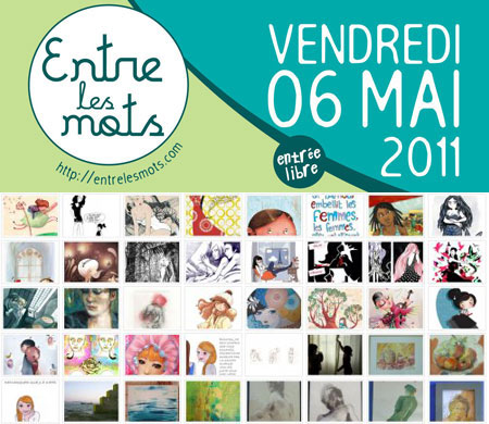 2011 - Charity exhibition (Les Mères Veilleuses, Paris, FRANCE)