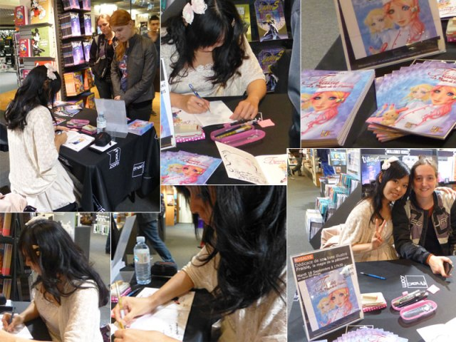 Sep 18, 2012: Bookstore FNAC (Nantes, FRANCE)