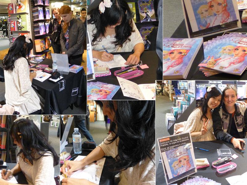 Sep 18, 2012: Bookstore FNAC (Nantes, FRANCE)