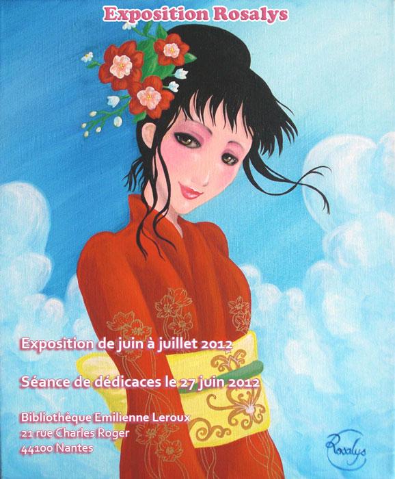 2012 - Exhibition Rosalys (Library Emilienne Leroux, Nantes, FRANCE)
