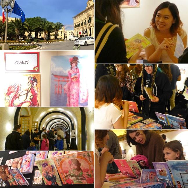 """Festival """"Malta Comic Con"""" (La Valette, MALTE) : 30 Nov-01 Dec 2013"""