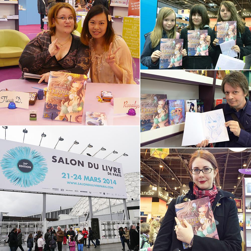 Salon du Livre de Paris (Paris, FRANCE) : Mar 21, 2014