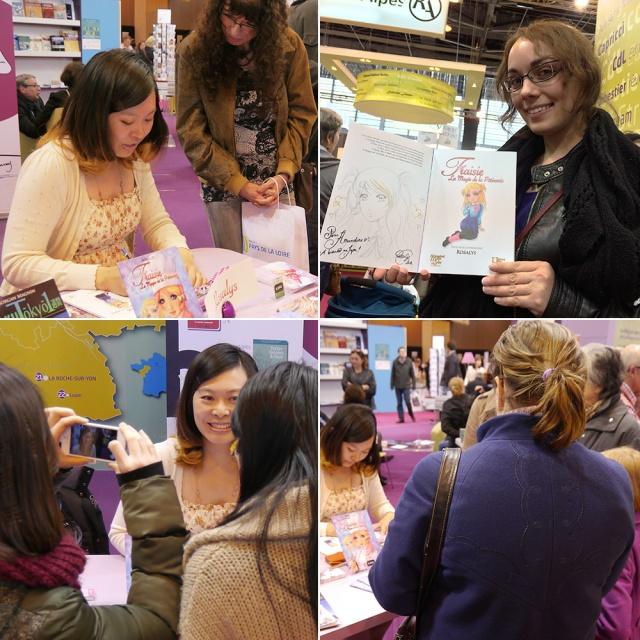 Salon du Livre de Paris (Paris, FRANCE) : 23 Mar 2014