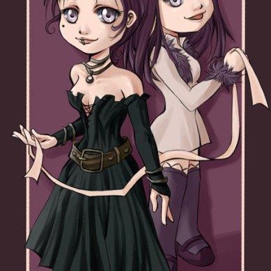 Meo and Saga totem