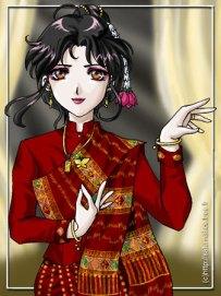 Lao dancer
