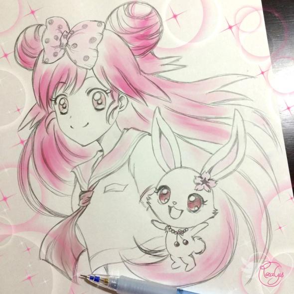 Momona and Ruby【Lady Jewelpet】