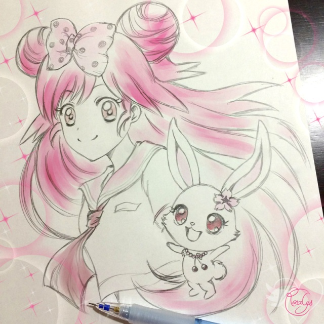Momona and Ruby【Lady Jewelpet】
