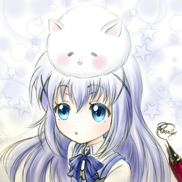 Chino-chan and Tippy【Is the Order a Rabbit?】