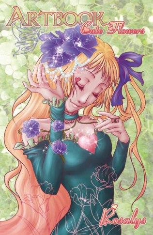 Artbook Rosalys Cute flowers (BD associées editions, 2009)