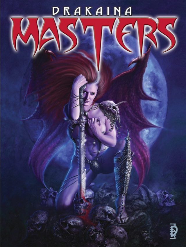 2010 : Collective artbook Drakaina : Masters (SQP publishing, USA) EN