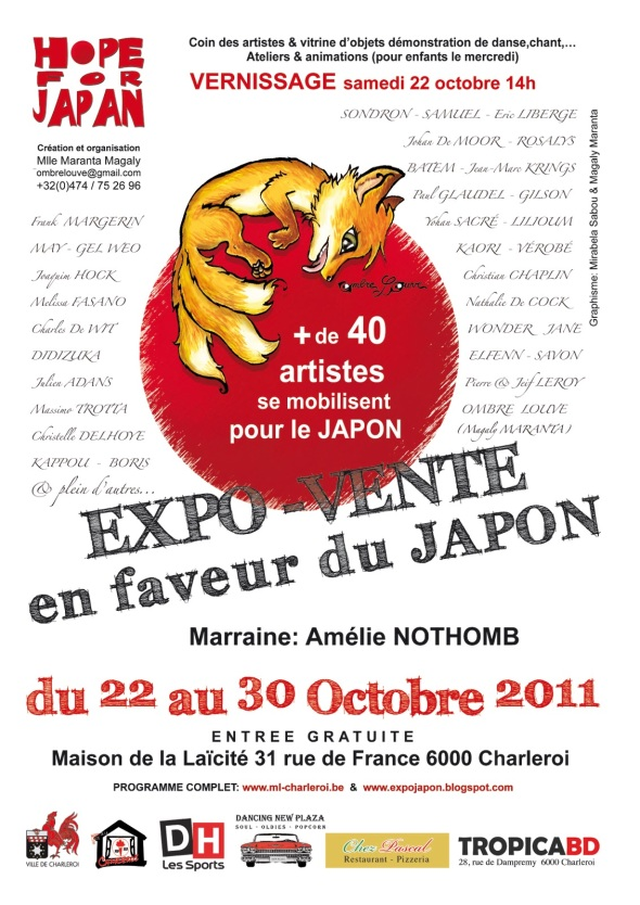 exposition-hope-for-japan-charleroi-belgique-2011