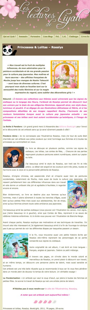 Press - Les lectures de Liyah