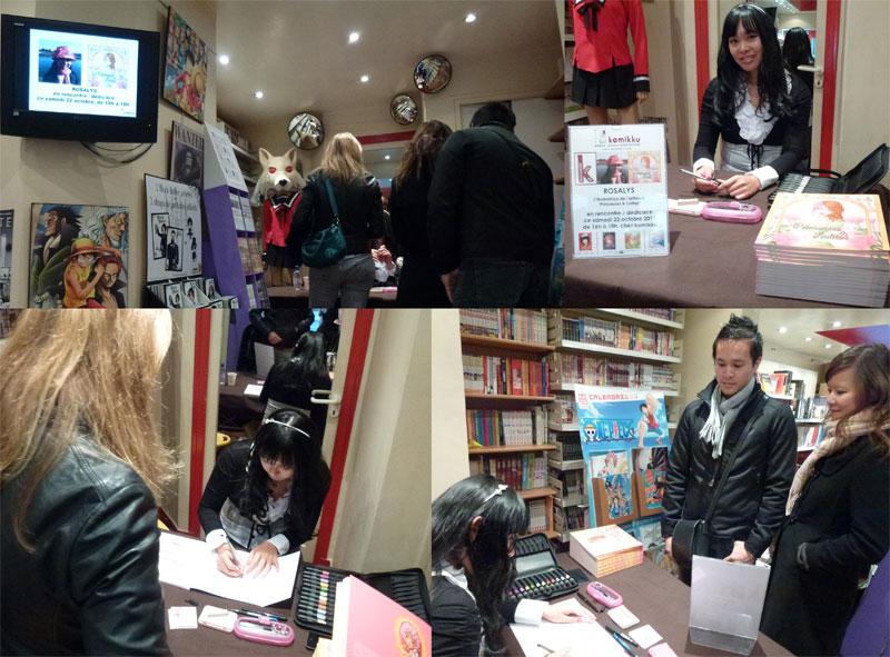 2011 : Bookstore Komikku (Paris, FRANCE)