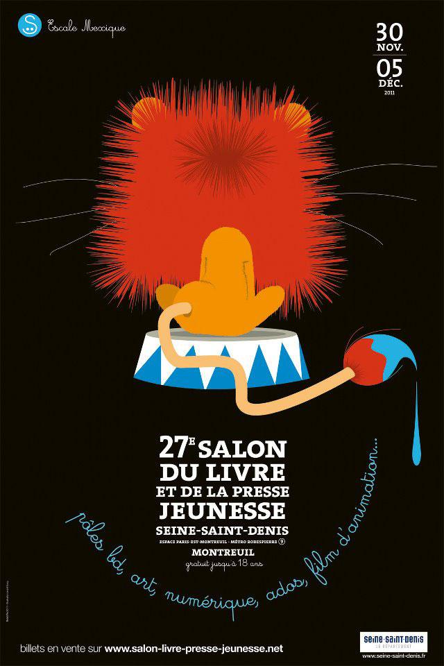 salon livre presse jeunesse montreuil 2011 rosalys artist