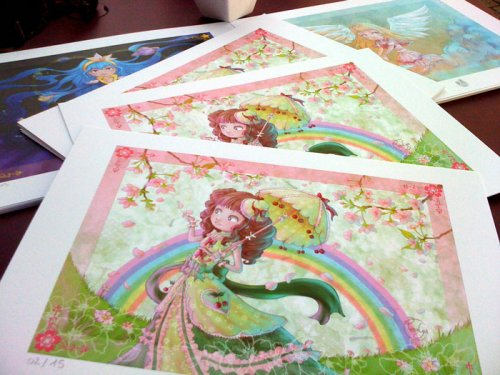 2010 : Collection of fine art prints (Poisson borgne editions)