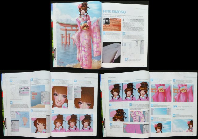 2012 : Tutorial for the art magazine Digital artist