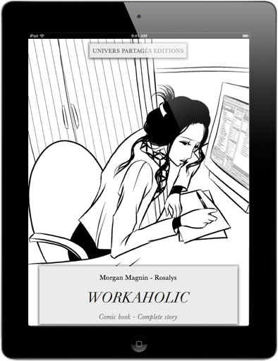 Workaholic - on iPad - cover