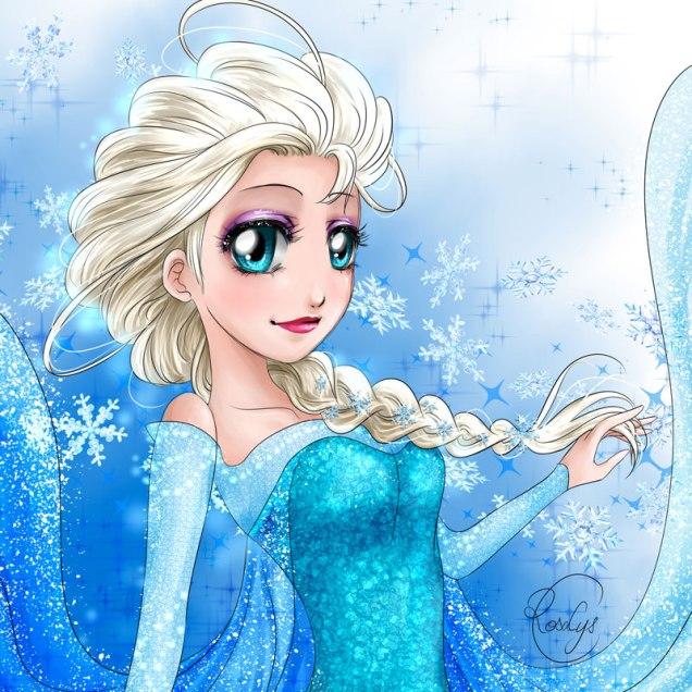 Elsa【Frozen (La Reine des neiges)】• エルサ【アナと雪の女王】
