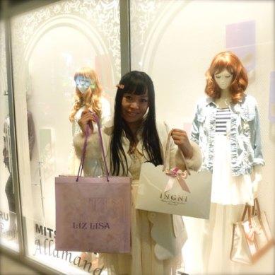 SHIBUYA109でショッピング꒰ ૢ❛ั◡❛ั ॢ✩꒱ 私はギャルのファッションが大好き! Shopping at Shibuya 109!! I love gals' fashion!
