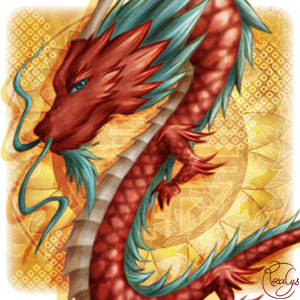 "Extrait de ""Chinese dragon"""