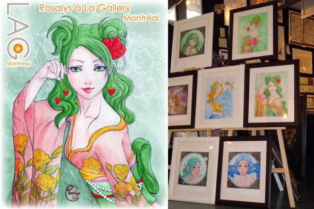 2010 - Exposition Rosalys (galerie d'art La Gallery, Montréal, CANADA)